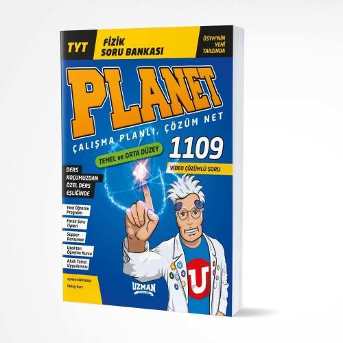 Uzman Yayınları TYT Fizik Planet Soru Bankası
