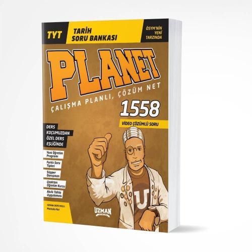 Uzman Yayınları TYT Tarih Planet Soru Bankası