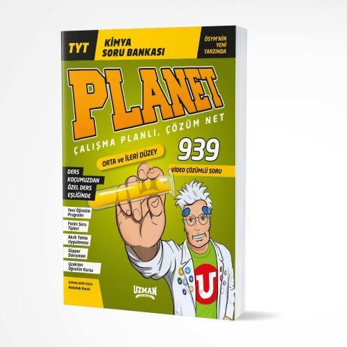 TYT Planet Kimya Orta ve İleri Düzey Soru Bankası Uzman Yayınları