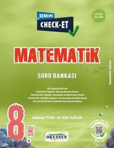 Okyanus 8. Sınıf Matematik Kendini Check Et Soru Bankası