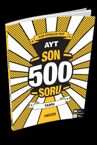 AYT SON 500 SORU TARİH