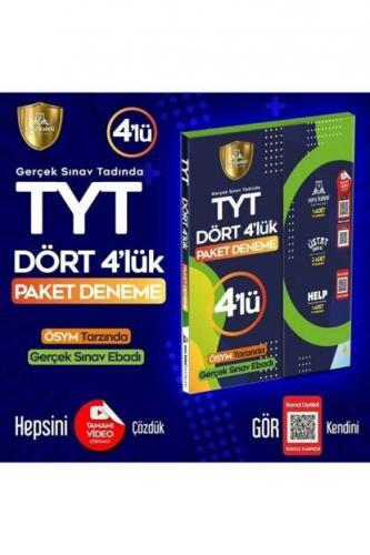 Soru Kalesi Yayınları TYT Dört 4 lük Paket Deneme