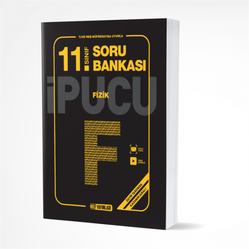 Hız Yayınları 11.SINIF FİZİK SORU BANKASI İPUCU