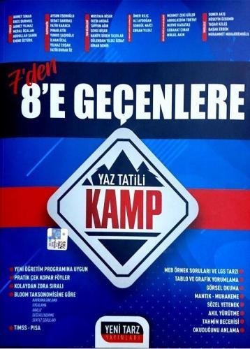 Yeni Tarz Yayınları 7 Den 8 e Geçenlere Yaz Tatili Kamp