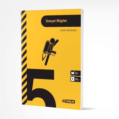 Hız Yayınları 5. SINIF SOSYAL BİLGİLER SORU BANKASI