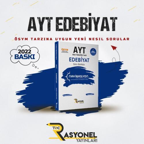 Rasyonel Yayınları AYT Edebiyat Navigasyon Soru Bankası