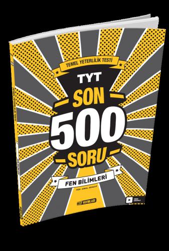 Hız Yayınları TYT SON 500 SORU FEN BİLİMLERİ