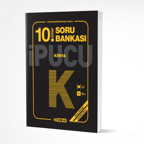 Hız Yayınları 10.SINIF KİMYA SORU BANKASI İPUCU