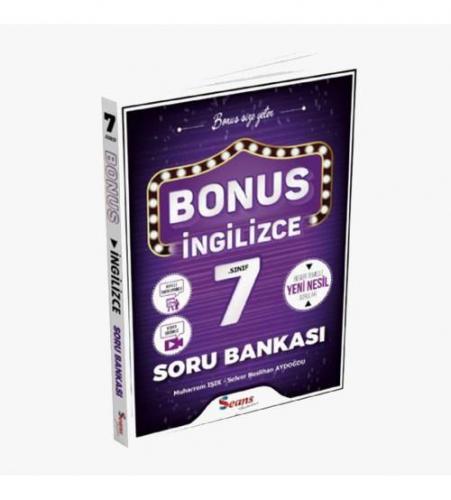 Seans Yayınları Bonus 7.Sınıf İngilizce Soru Bankası
