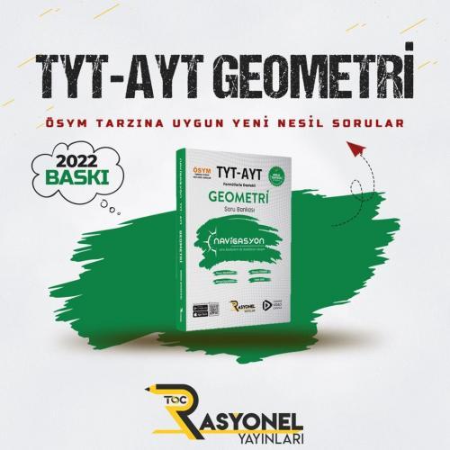 Rasyonel Yayınları TYT AYT Geometri Soru Bankası