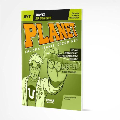 AYT Planet Kimya 19'lu Deneme Uzman Yayınları