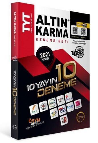 Altın Karma 2021 TYT 10 Farklı Yayın 10 Farklı Deneme