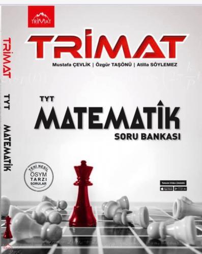 TYT Matematik Tamamı Video Çözümlü Soru Bankası Trimat Yayınları 2021