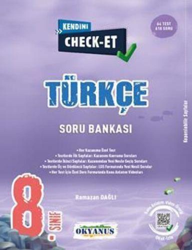 Okyanus 8. Sınıf Türkçe Kendini Check Et Soru Bankası