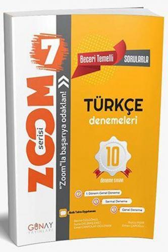Günay Yayınları 7. Sınıf Türkçe 10 lu Denemeleri Zoom Serisi