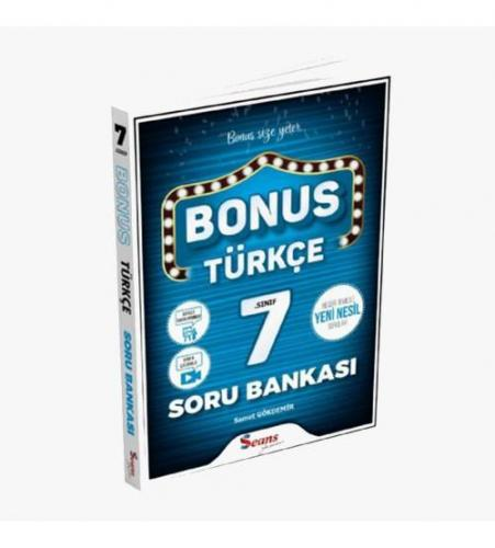 Seans Yayınları Bonus 7.Sınıf Türkçe Soru Bankası