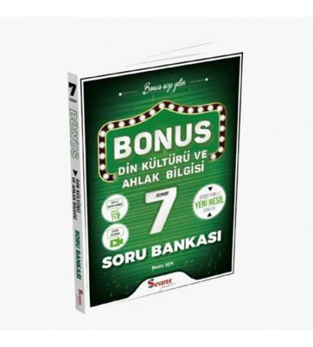 Seans Yayınları Bonus 7.Sınıf Din Kültürü Ve Ahlak Bilgisi Soru Bankas