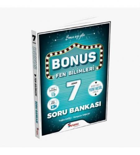 Seans Yayınları Bonus 7.Sınıf Fen Bilimleri Soru Bankası
