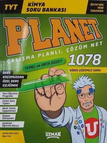 Uzman Yayınları TYT Kimya Planet Soru Bankası