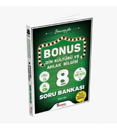 Seans Yayınları Bonus 8.Sınıf Din Kültürü Ve Ahlak Bilgisi Soru Bankas