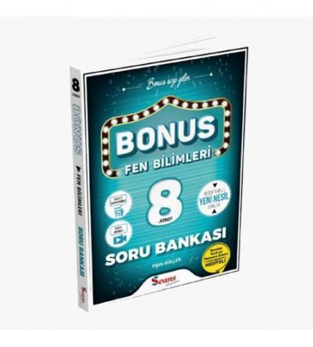 Seans Yayınları Bonus 8.Sınıf Fen Bilimleri Soru Bankası