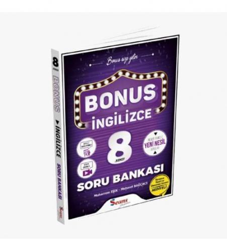 Seans Yayınları Bonus 8.Sınıf İngilizce Soru Bankası
