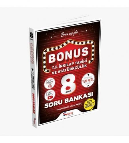 Seans Yayınları Bonus 8.Sınıf İnkılap Tarihi Ve Atatürkçülük Soru Bank
