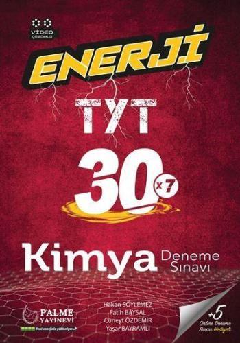 Palme Yayınları TYT Kimya Enerji 30 Deneme Sınavı
