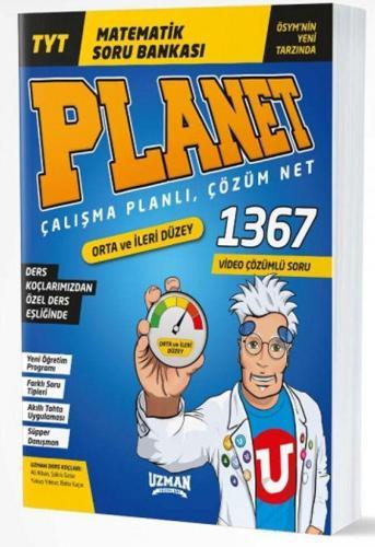Uzman Yayınları TYT Matematik Planet Soru Bankası