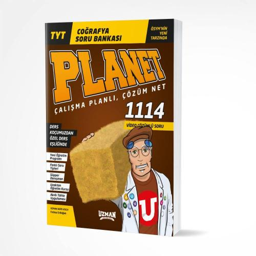 TYT Planet Coğrafya Soru Bankası Uzman Yayınları