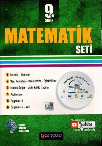 YARI ÇAP 9.SINIF MATEMATİK SETİ - 2021