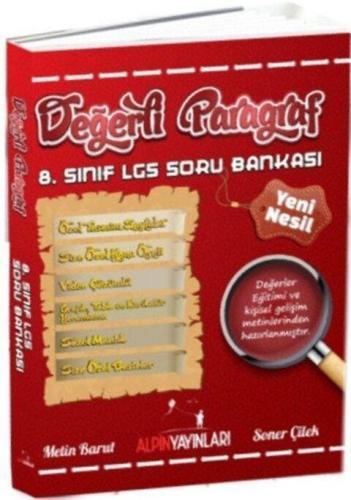 Alpin Yayınları 8. Sınıf 8. Sınıf LGS Paragraf Soru Bankası