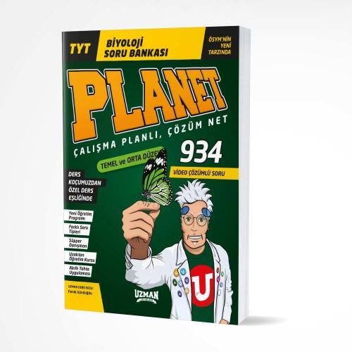 TYT Planet Biyoloji Temel-Orta Düzey Soru Bankası Uzman Yayınları
