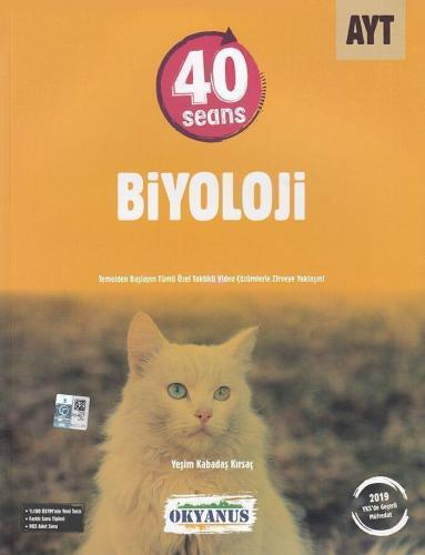 Okyanus Yayınları AYT 40 Seans Biyoloji Soru Bankası