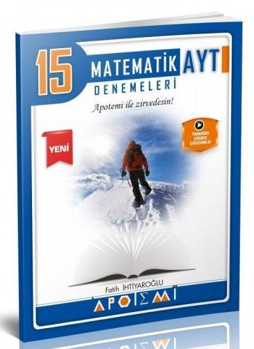 Apotemi Yayınları AYT Matematik 15 Çözümlü Deneme