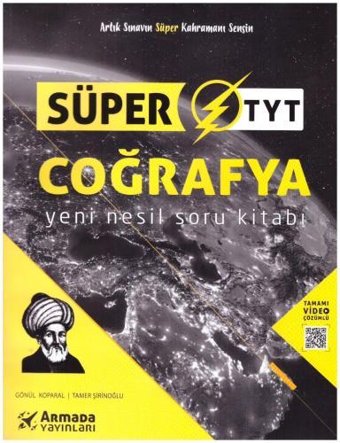 Armada Yayınları Süper TYT Coğrafya Yeni Nesil Soru Kitabı