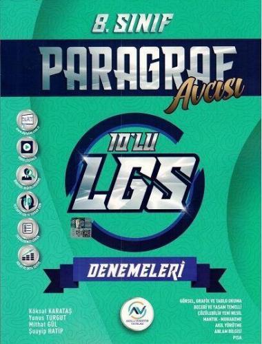 Av Akıllı Versiyon Yayınları 8. Sınıf LGS Paragraf 10 lu Deneme