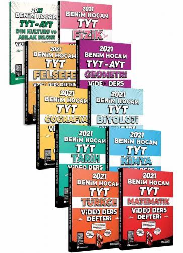 Benim Hocam Yayınları TYT Video Ders Notları 10 Kitaplık Set