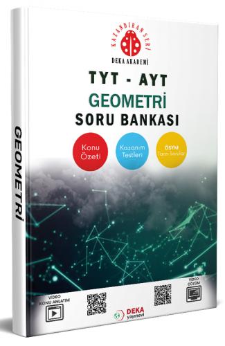 TYT AYT Geometri Soru Bankası Deka Akademi Yayınları