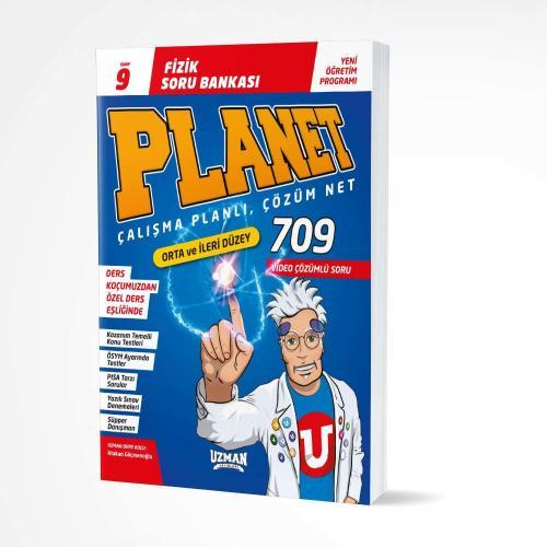 9. Sınıf Planet Fizik Orta-İleri Düzey Soru Bankası Uzman Yayınları