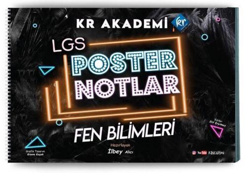 KR Akademi 8. Sınıf Fen Bilimleri Poster Notları