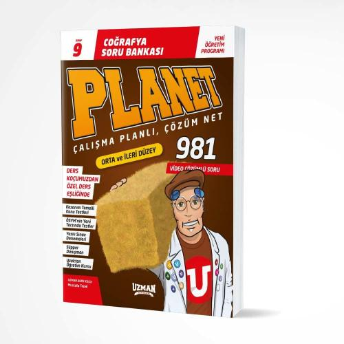 9. Sınıf Coğrafya Planet Soru Bankası Uzman Yayınları