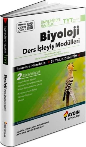 Aydın Yayınları TYT Biyoloji Üniversiteye Hazırlık Ders İşleyiş Modüll