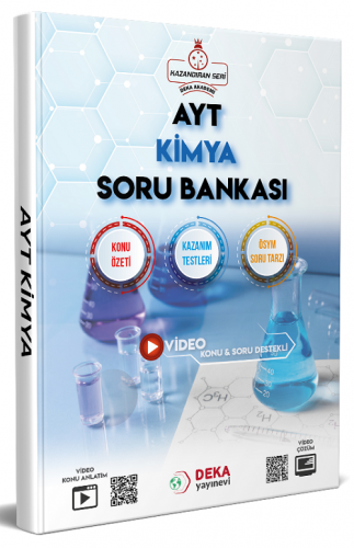 AYT Kimya Soru Bankası Deka Akademi Yayınları
