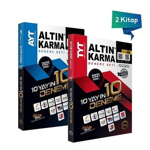 Altın Karma 2021 TYT ve AYT 10 Farklı Yayın 10 Deneme Seti