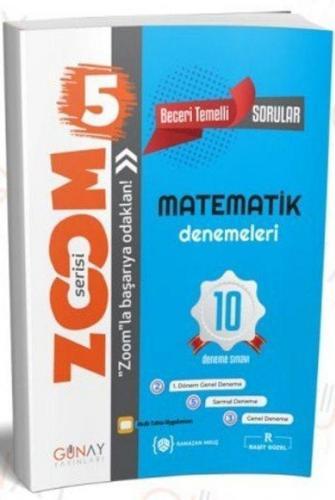Günay Yayınları 5. Sınıf Matematik 10 lu Denemeleri Zoom Serisi