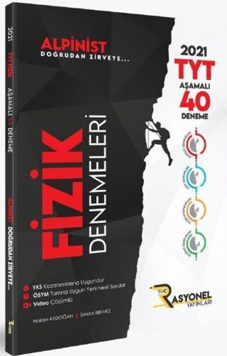 Rasyonel Yayınları TYT Fizik Alpinist Aşamalı 40 Deneme