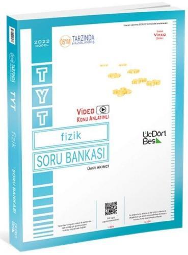 ÜçDörtBeş Yayınları TYT Fizik Soru Bankası