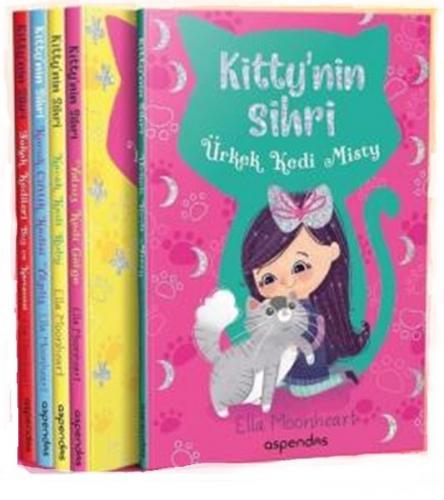 Kitty'nin Sihri Seti - 5 Kitap Takım