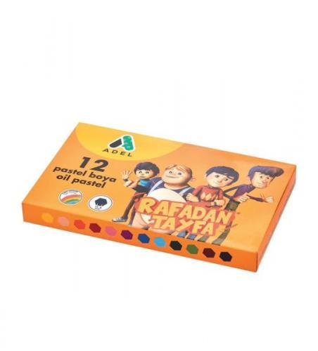 Adel Rafadan 12'li Pastel Boya